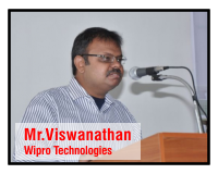 V Vishwanathan,Manager HR ,Wipro Technologies - VSB Engineering College