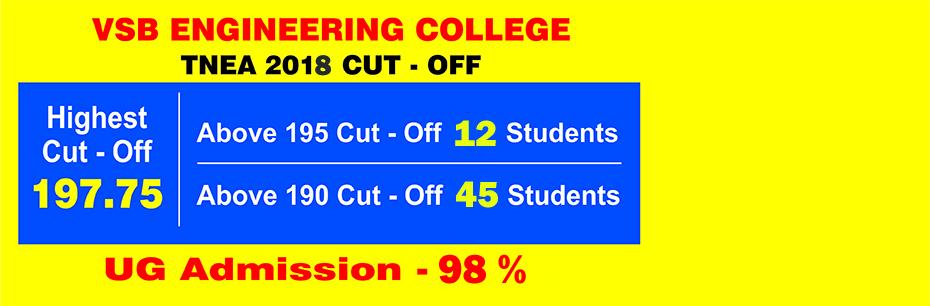 Top Engineering Colleges in Tamil Nadu - VSB Engineering Karur