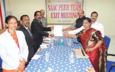 NAAC Peer Team Visit